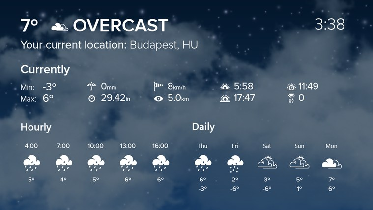 WeatherFlow-app
