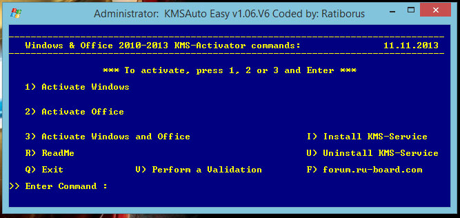 Open KMS activator