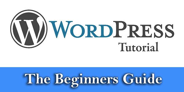 Wordpress-tutorial--theBeginners-Guide