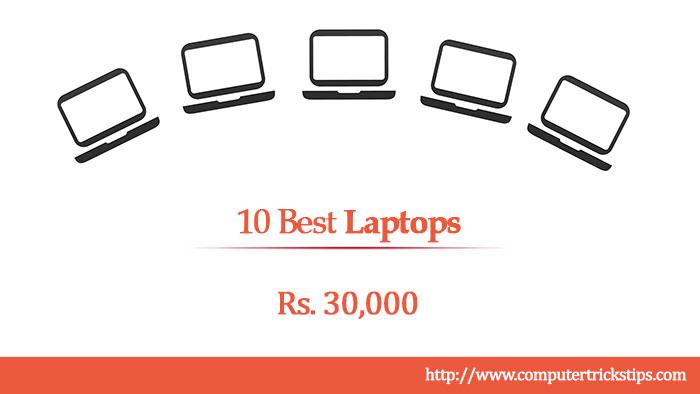 10 best laptops under 30000