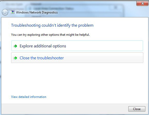 netword troubleshooting