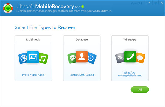 select file type recover