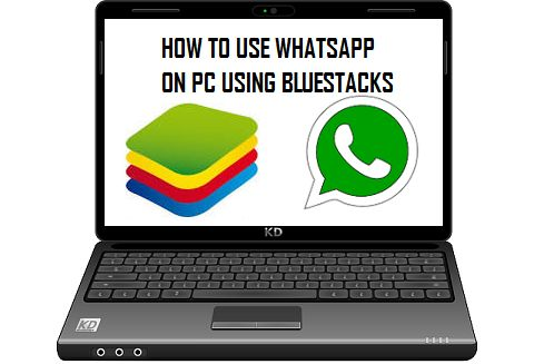 how to use whatsapp on pc using bluestacks
