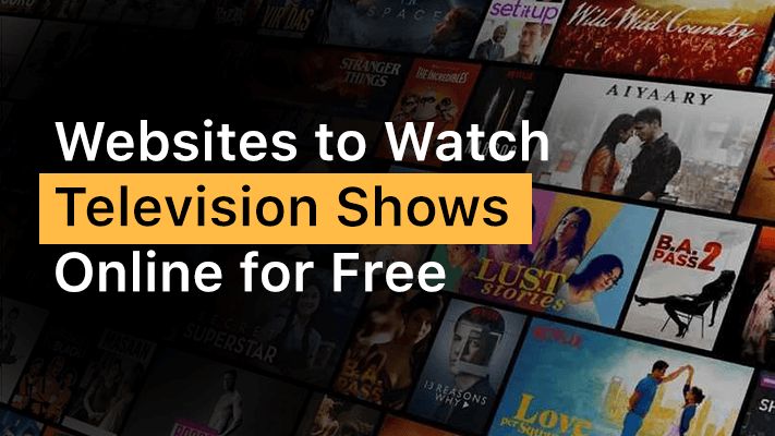 Website To watch tv shows online