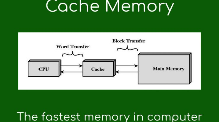 Increase Cache Memory To Speed Up Computer