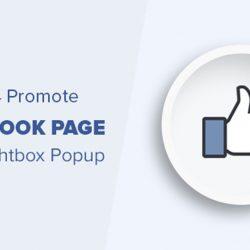 Add Facebook Fan Page Popup LightBox For Blogger & WordPress Blog