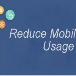 Save Or Reduce Your Mobile Data Usage
