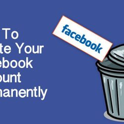 Delete Facebook Account Permanently & Temporarily
