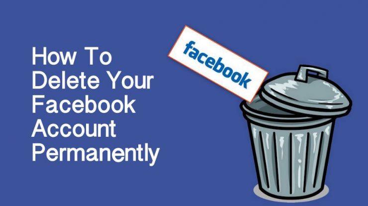 Delete Facebook Account Permanently & Temporarily
