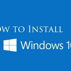 Install Windows 10 in Your PC Or Laptops