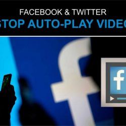 Disable Autoplay Video on Facebook and Twitter