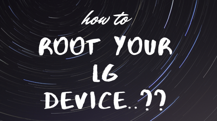 root your LG device