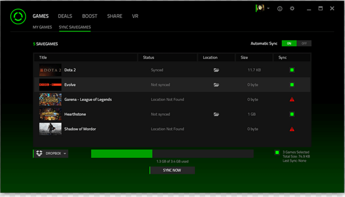 Razer Cortex Download for Windows