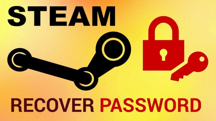 How to Recover your Steam account password
