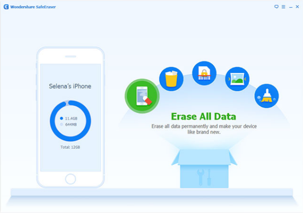 Wondershare SafeEraser  Download for Free