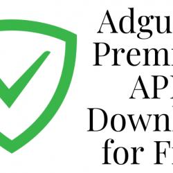 Adguard Premium APK Download for Free