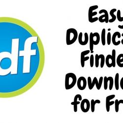 Easy Duplicate Finder Download for Free