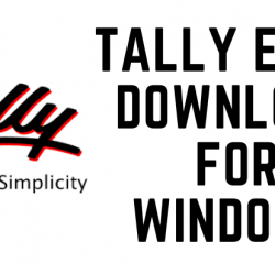 Tally ERP 9 Download for Windows