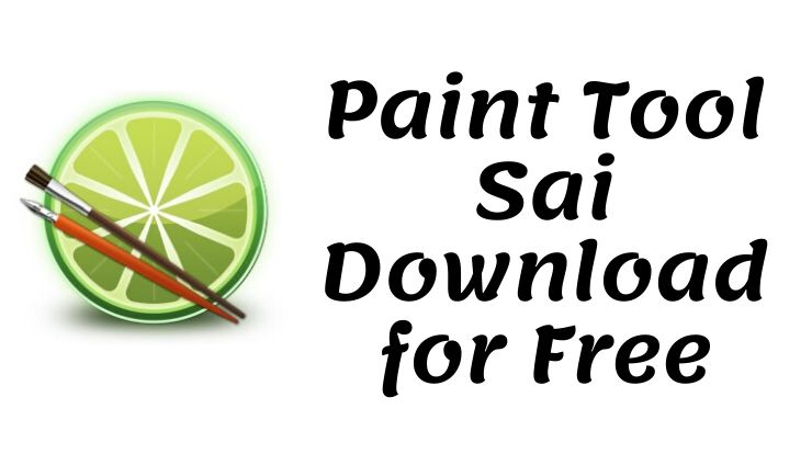 Paint Tool Sai Download for Free