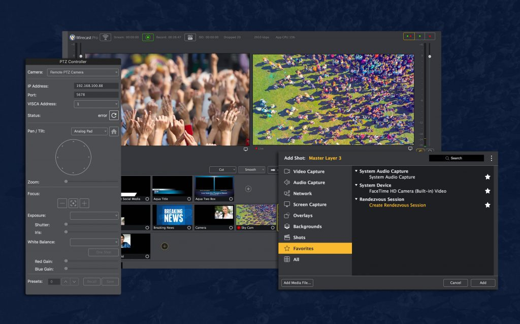 Wirecast Pro Download for Free