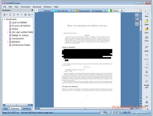 Corel PDF Fusion Download for Free