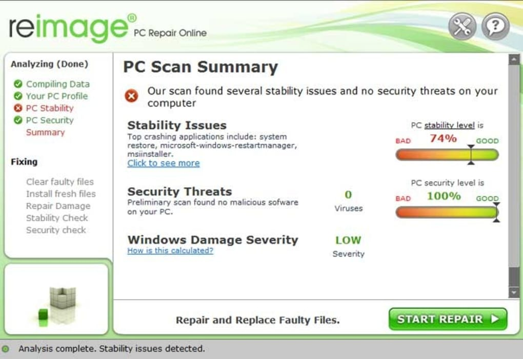 Reimage PC Repair Download for Free